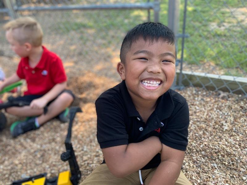 2020 K5 Boy on Playground