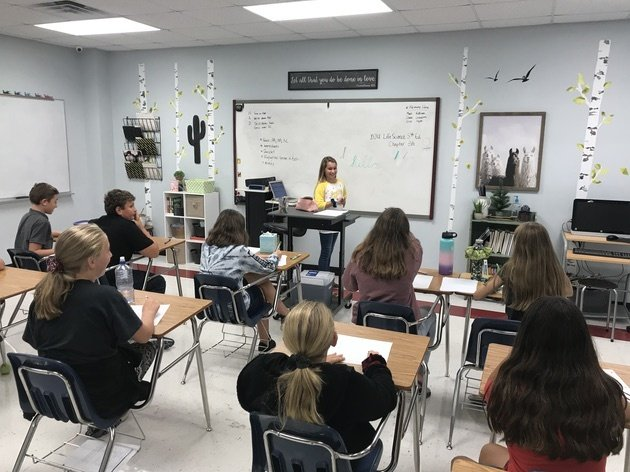 Peglar Classroom